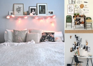 20 Ways to Add Life to a White Wall fi
