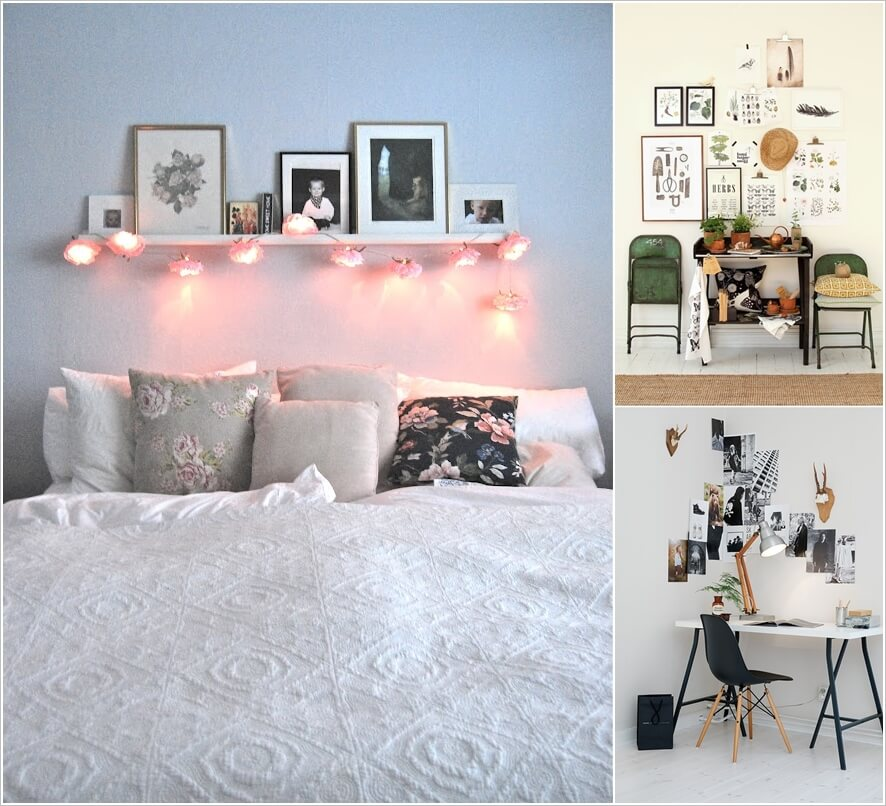 20 Ways to Add Life to a White Wall 1