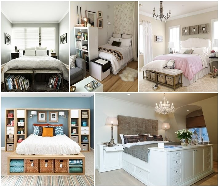 32 Ideas to Decorate The Space in Front of Bed Foot 1