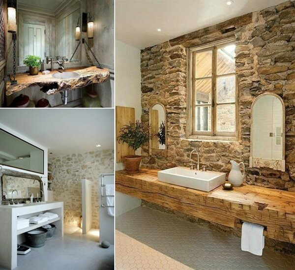 40 rustic bathroom designs that will inspire you for 40s bathroom decor
