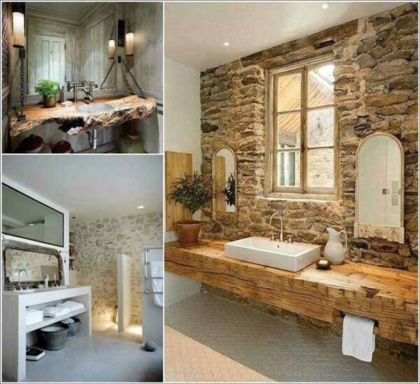 40 rustic bathroom designs that will inspire you - Rustic Bathroom Design