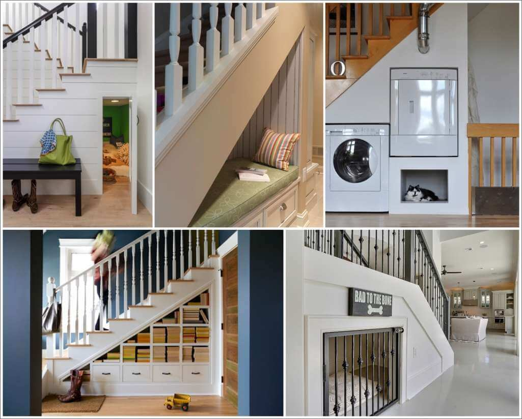 Tremendous Cleverly Utilize The Space Under The Stairs Largest Home Design Picture Inspirations Pitcheantrous