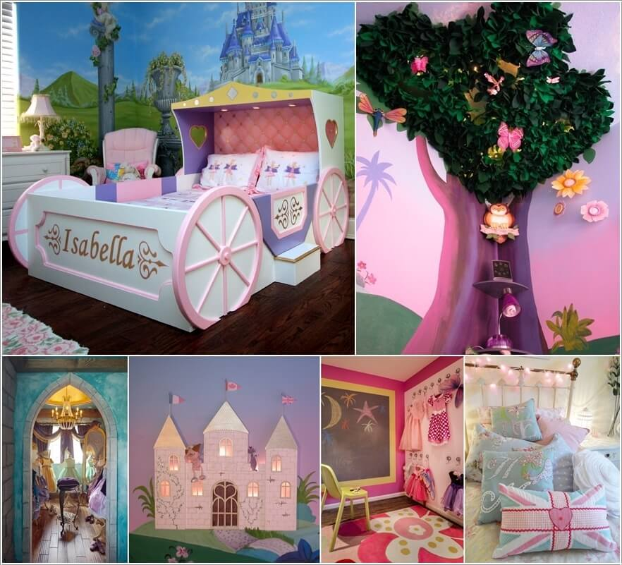 Design a Fairytale Girls' Bedroom Filled with Fantasy a