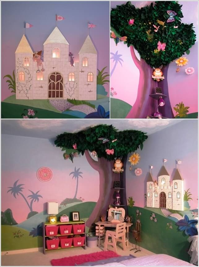 Design a Fairytale Girls' Bedroom Filled with Fantasy 6