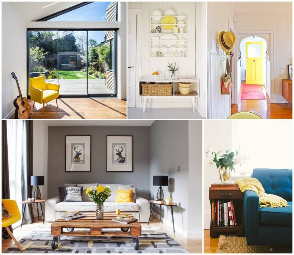 How To Add a Hint of Yellow To Your Home Interior 1