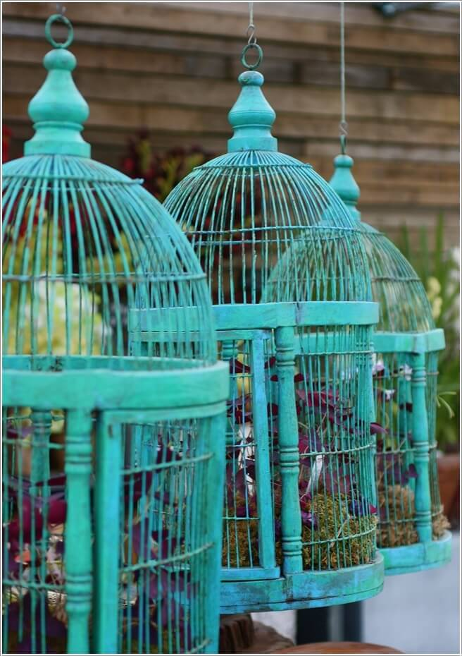 Make An Outdoor Feature from Recycled Materials 7