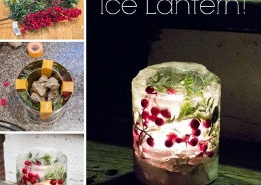 Make This Stunning Ice Lantern Before Winter Ends fi