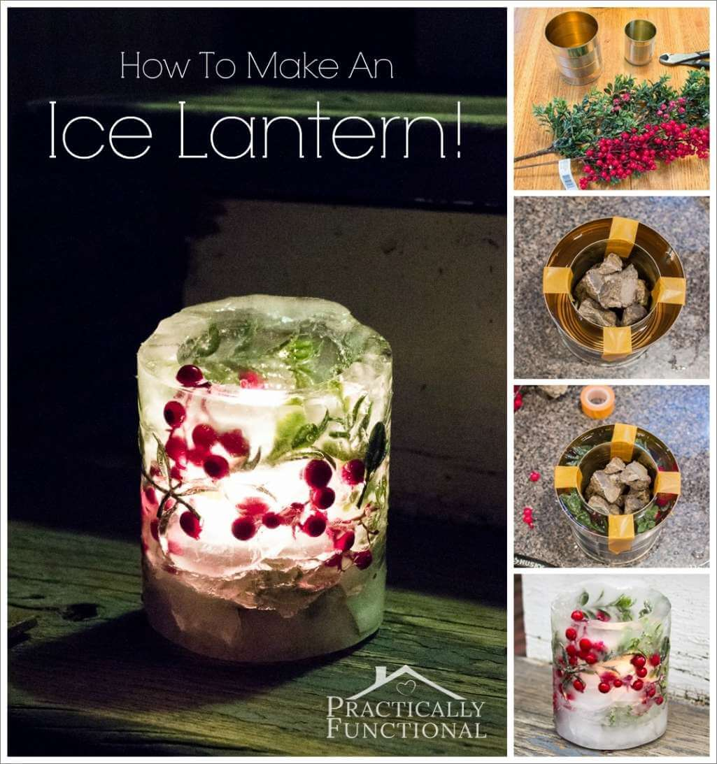 Make This Stunning Ice Lantern Before Winter Ends 1