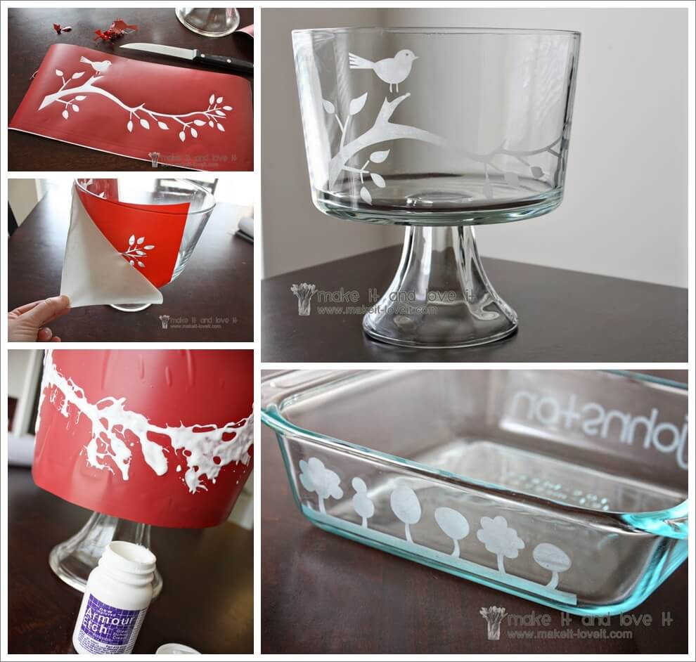 This Glass Etching Technique is Simply Awesome 1