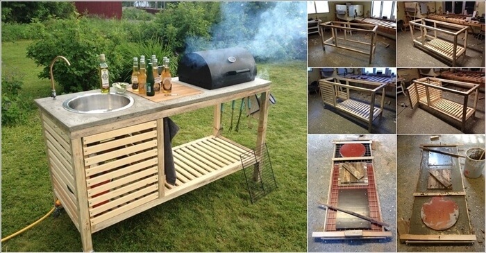 This Portable Outdoor Barbecue is Just Superb 1