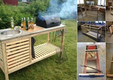 This Portable Outdoor Barbecue is Just Superb fi