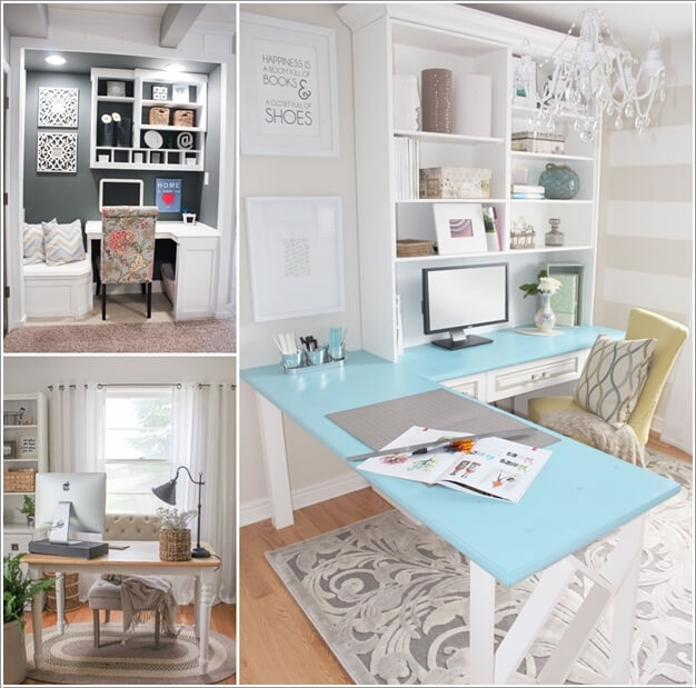 Home Desk Design Ideas: 10 Chic And Beauteous Home Office Desk Ideas