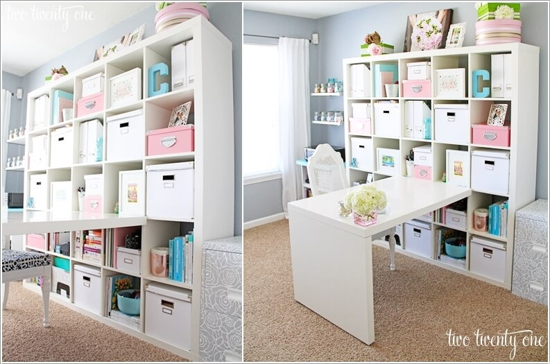 10 Chic and Beauteous Home Office Desk Ideas 4