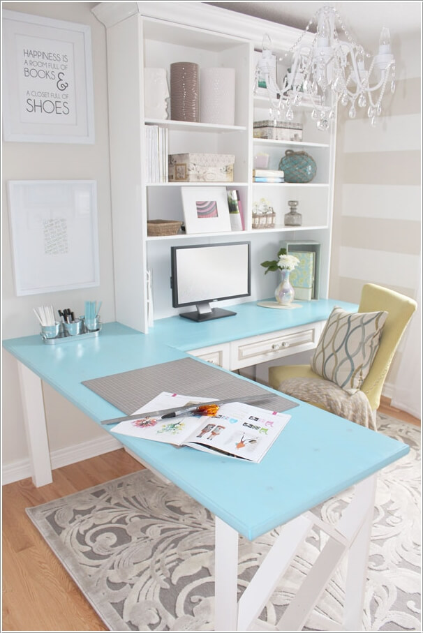 10 Chic and Beauteous Home Office Desk Ideas 1