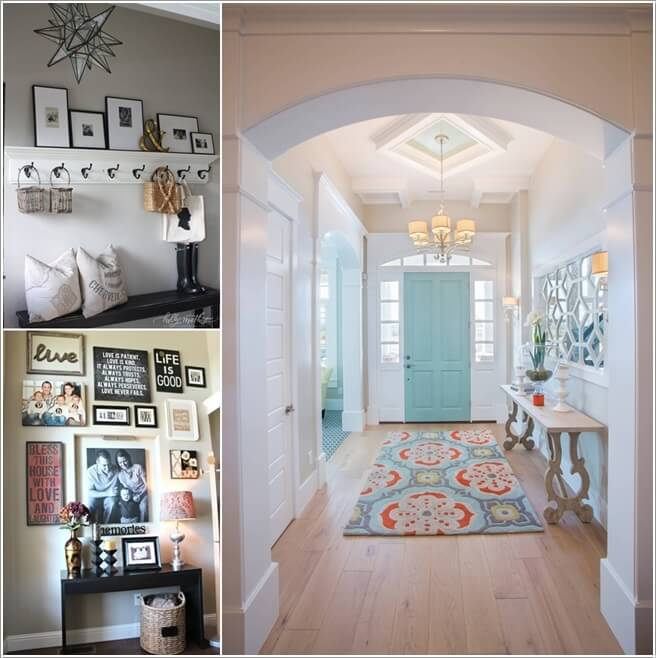 10 chic ways to decorate your entryway wall for Decorating your foyer