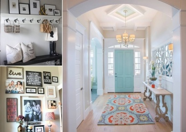 10 Chic Ways to Decorate Your Entryway Wall fi