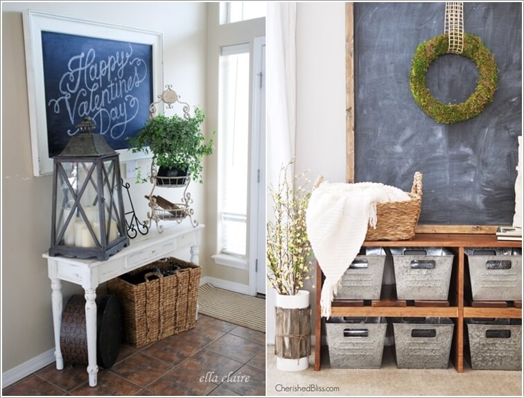 10 Chic Ways to Decorate Your Entryway Wall 3