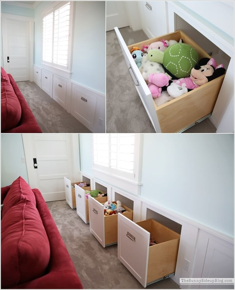 10 Clever Hidden Storage Ideas for Your Home 2