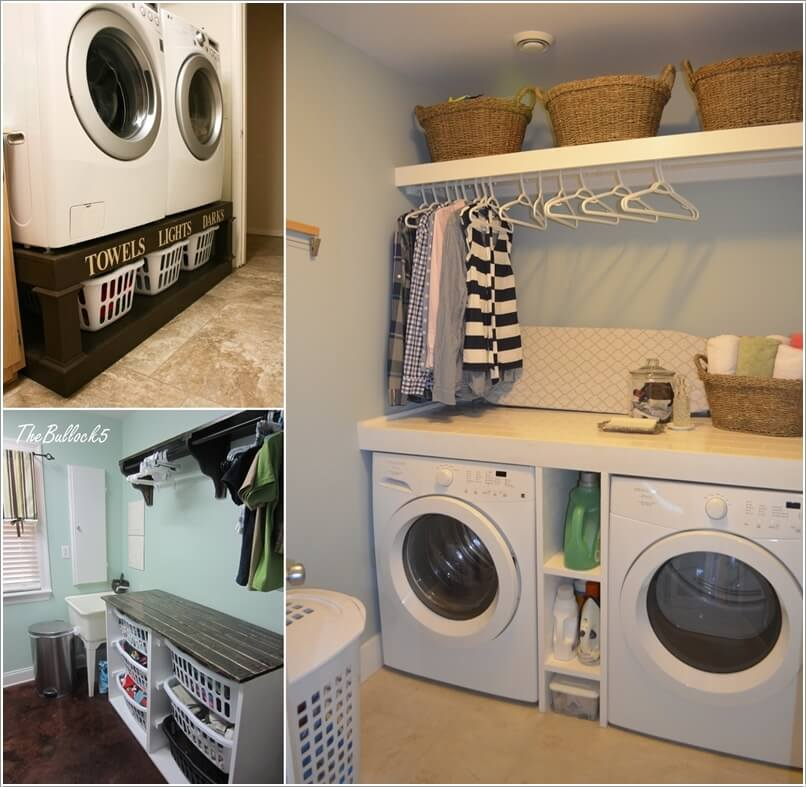 Interior Design 10 Clever Ideas To Store More In Your Laundry Room