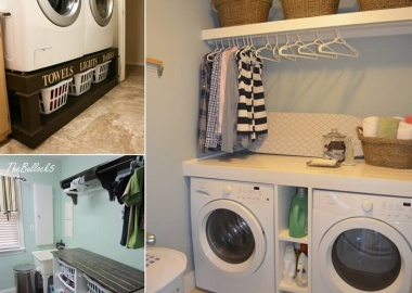 10 Clever Ideas to Store More in Your Laundry Room fi