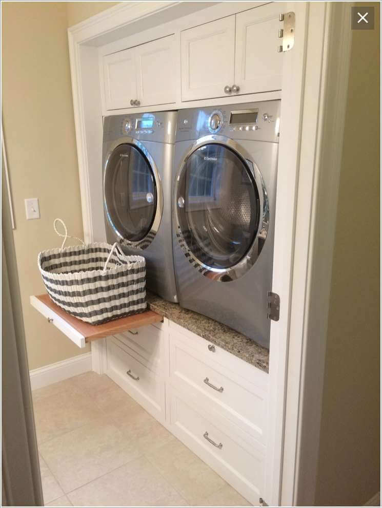 10 Clever Ideas to Store More in Your Laundry Room 3