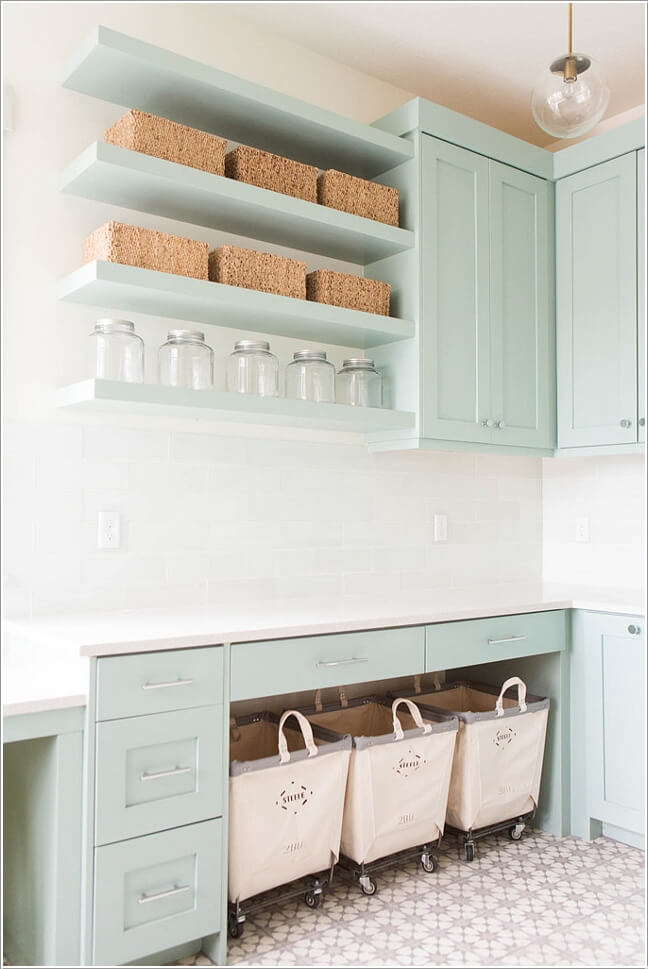 10 Clever Ideas to Store More in Your Laundry Room 4