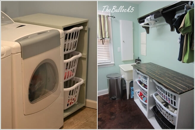 10 Clever Ideas to Store More in Your Laundry Room 6