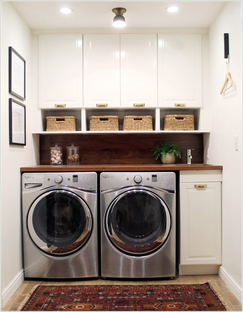 10 Clever Ideas to Store More in Your Laundry Room 7