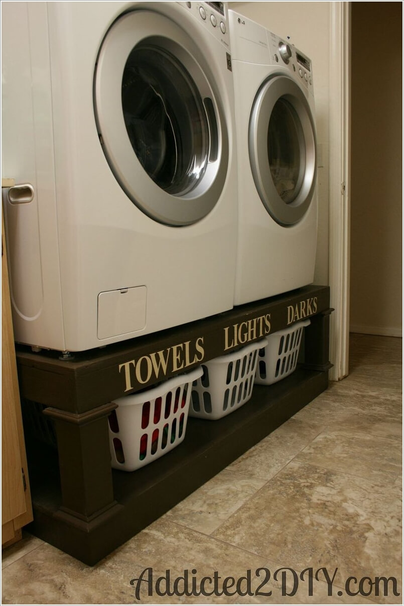 10 Clever Ideas to Store More in Your Laundry Room 8