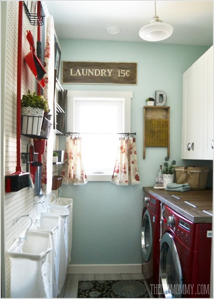 10 Clever Ideas To Store More In Your Laundry Room