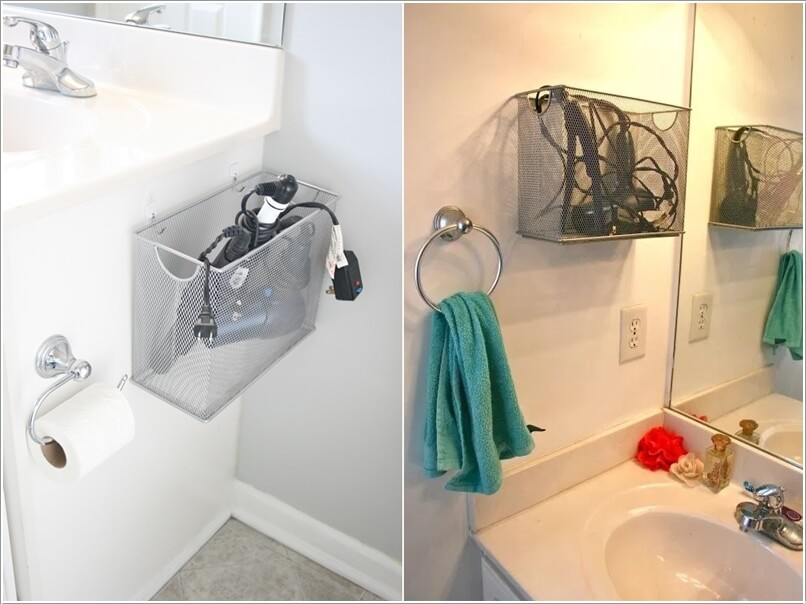10 Clever Ideas to Store Your Hair Appliances 3