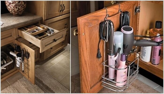 10 Clever Ideas to Store Your Hair Appliances 5