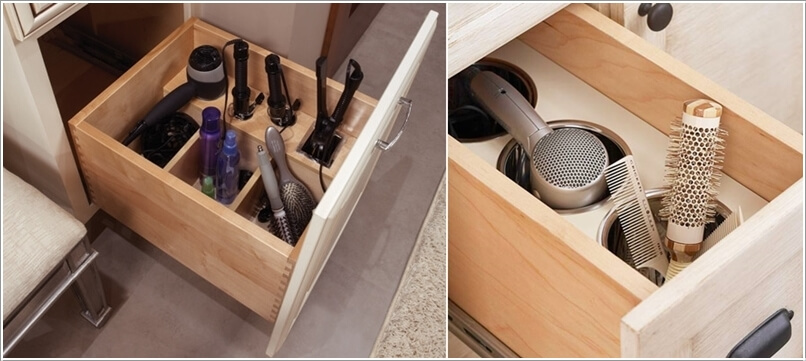 10 Clever Ideas to Store Your Hair Appliances 6