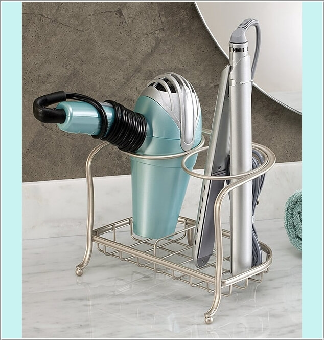 10 Clever Ideas to Store Your Hair Appliances 7