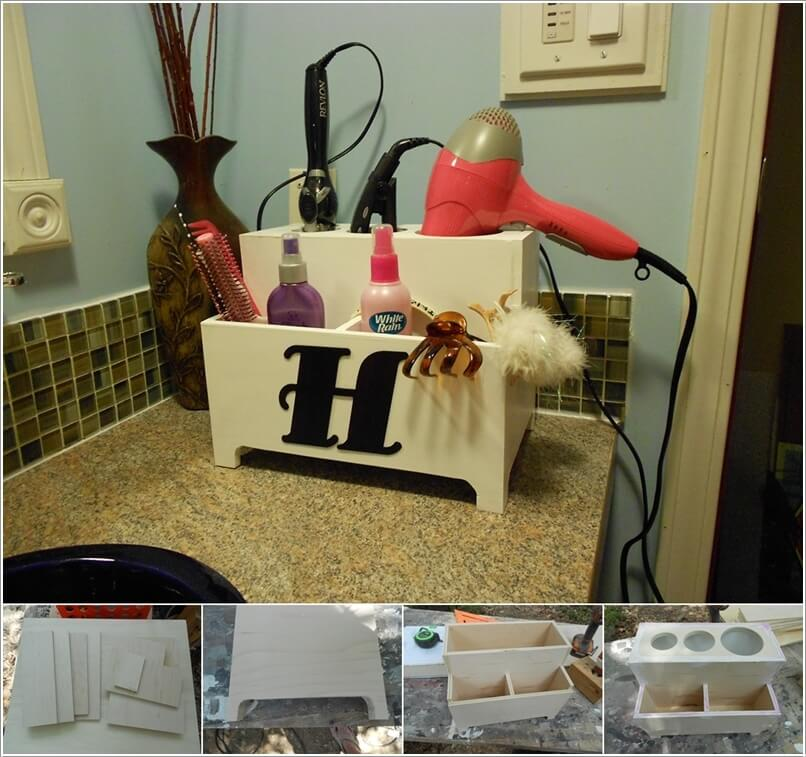 10 Clever Ideas to Store Your Hair Appliances 9
