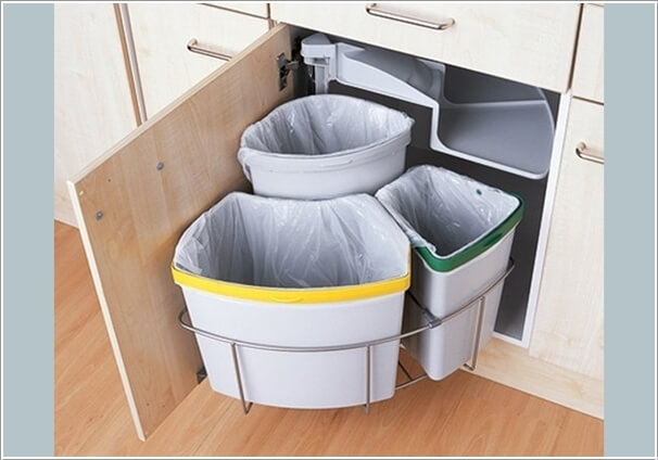 10 Clever Ways to Hide a Trash Can 2