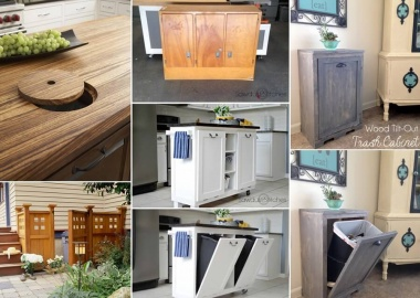 10 Clever Ways to Hide a Trash Can fi