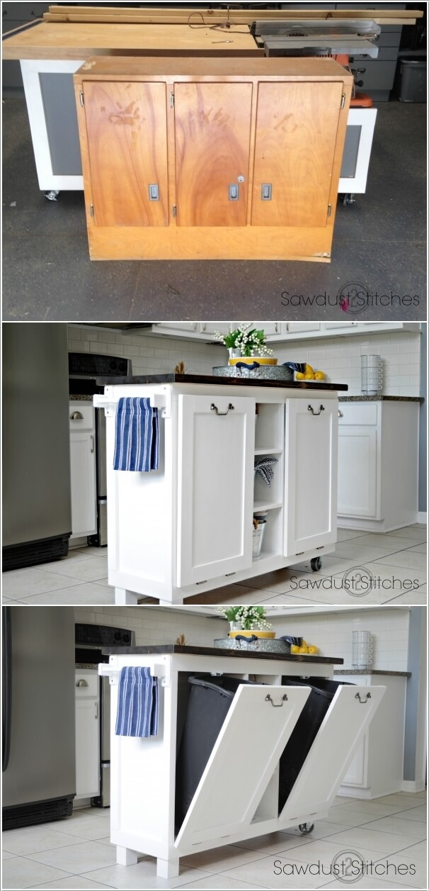 10 Clever Ways to Hide a Trash Can 3