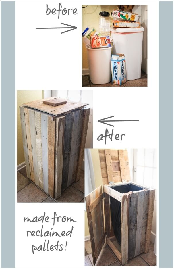 10 Clever Ways to Hide a Trash Can 8