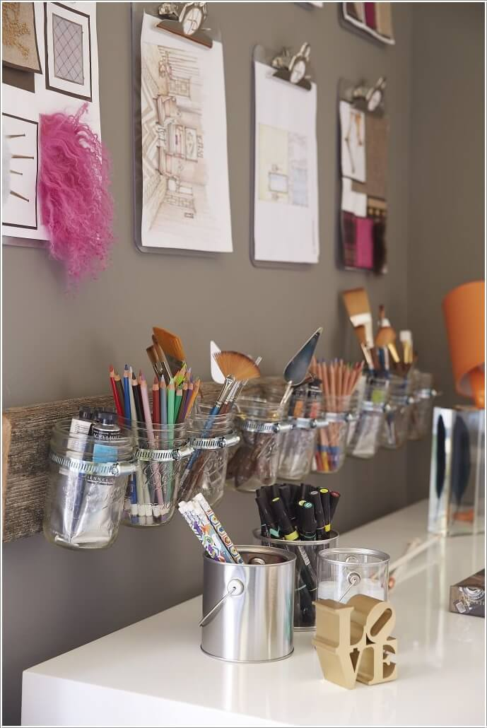 10 Clever Ways to Use Mason Jars for Storage 5