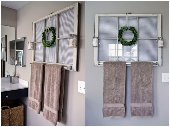 15 Cool Diy Towel Holder Ideas For Your Bathroom 5