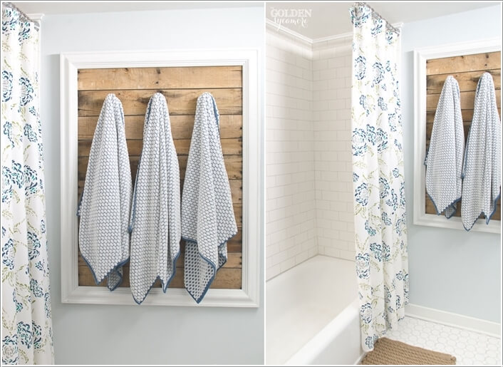 Attractive 15 Cool DIY Towel Holder Ideas For Your Bathroom 6