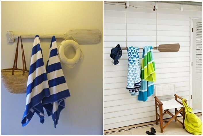 15 Cool DIY Towel Holder Ideas for Your Bathroom 8