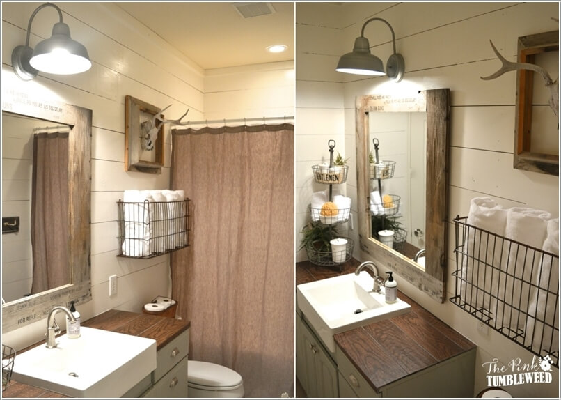 15 Cool DIY Towel Holder Ideas for Your Bathroom 12