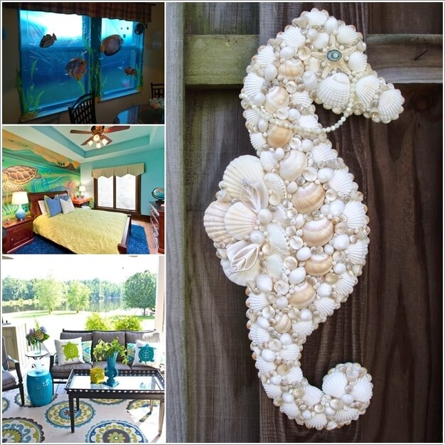 10 Cool Ideas to Decorate Your Home with Sea Creatures a