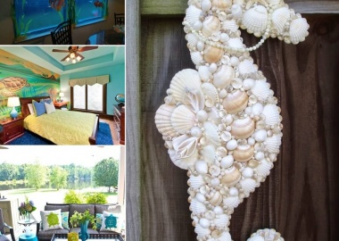 10 Cool Ideas to Decorate Your Home with Sea Creatures fi