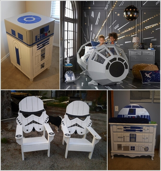 10 cool star wars inspired home decor ideas. Black Bedroom Furniture Sets. Home Design Ideas
