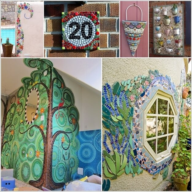 10 mosaic wall art ideas that will leave you mesmerized - Mosaic Design Ideas