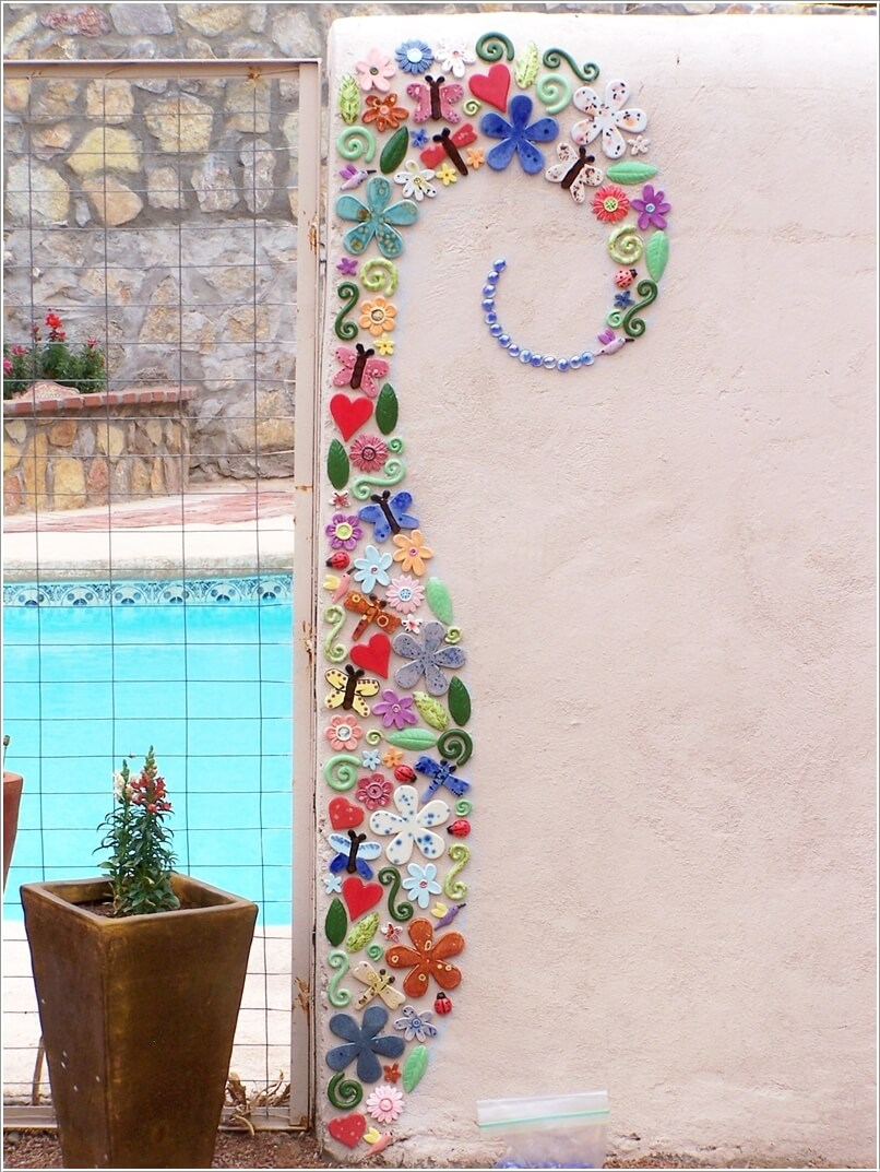 10 Mosaic Wall Art Ideas That Will Leave You Mesmerized on Outdoor Garden Wall Art Ideas id=87282