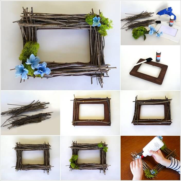 10 unique and cool picture frame ideas for Cool picture frame designs